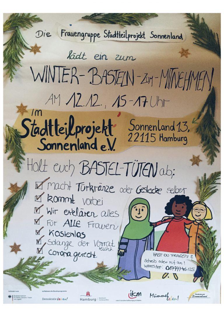 Frauenfest lädt ein zum Winter-Basteln-Zum-Mitnehmen