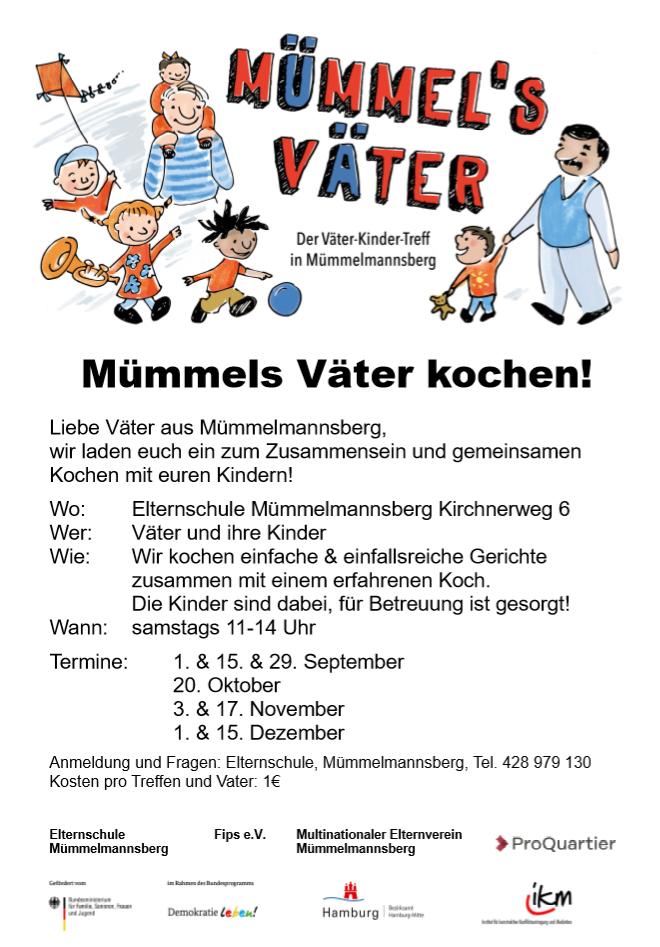 Mümmels Väter: Der Väter-Kinder-Treff