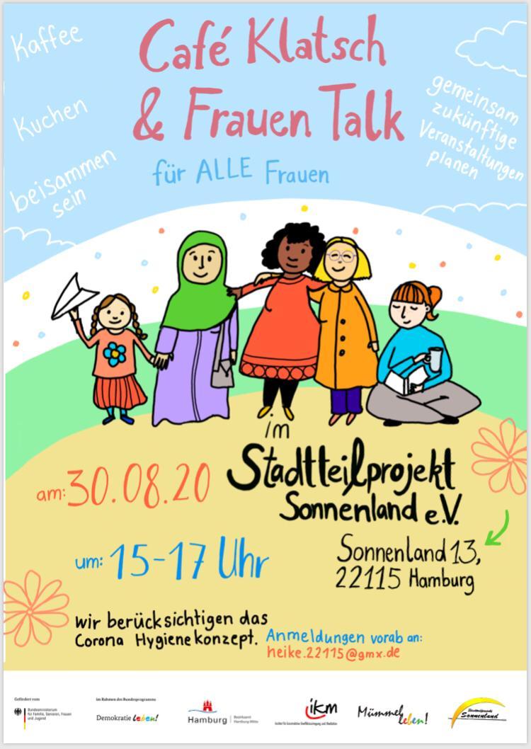 Einladung zum Café Klatsch & Frauen Talk