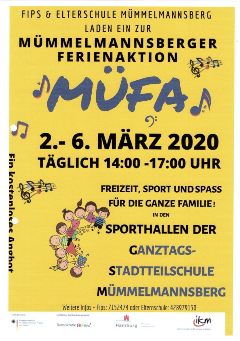 Mümmelmannsberger Ferien Aktion (MÜFA) 2020