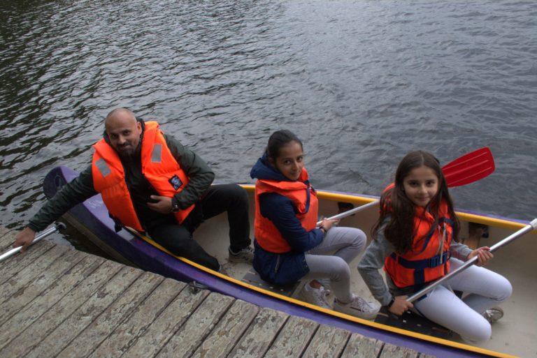 Vater-Kind-Projekt: Hamburg auf dem Wasser